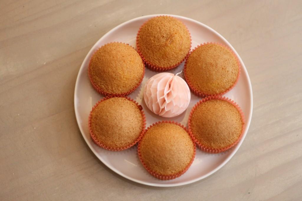 cupcake vanille glaçage nutella